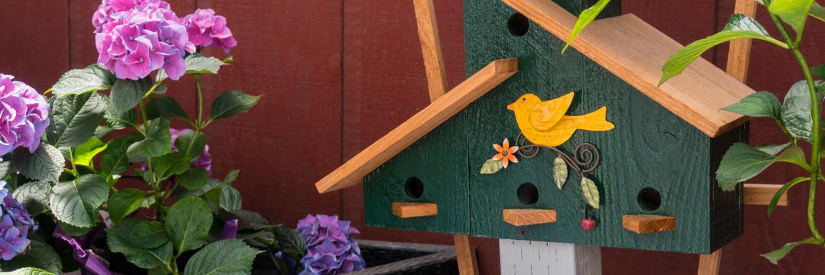 Bird nesting box - Rushfields