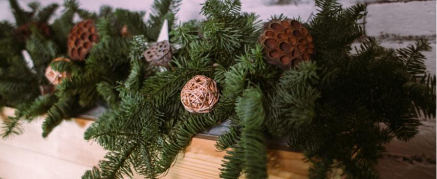 Christmas Garlands - Rushfields