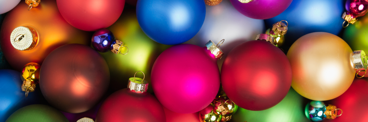 Christmas baubles - Rushfields