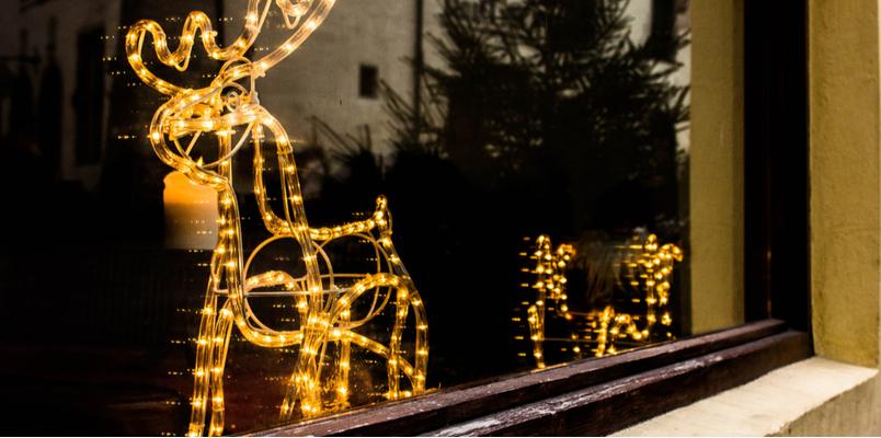 Christmas tree lights - Rushfields