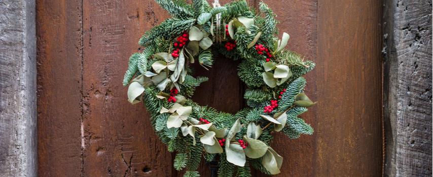Christmas wreath - Rushfields