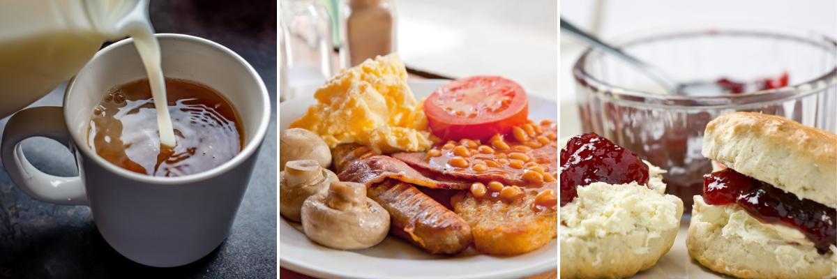English food - Rushfields Cafe