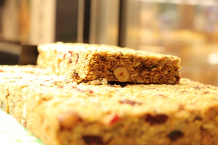 Home-made cake - Rushfields Cafe