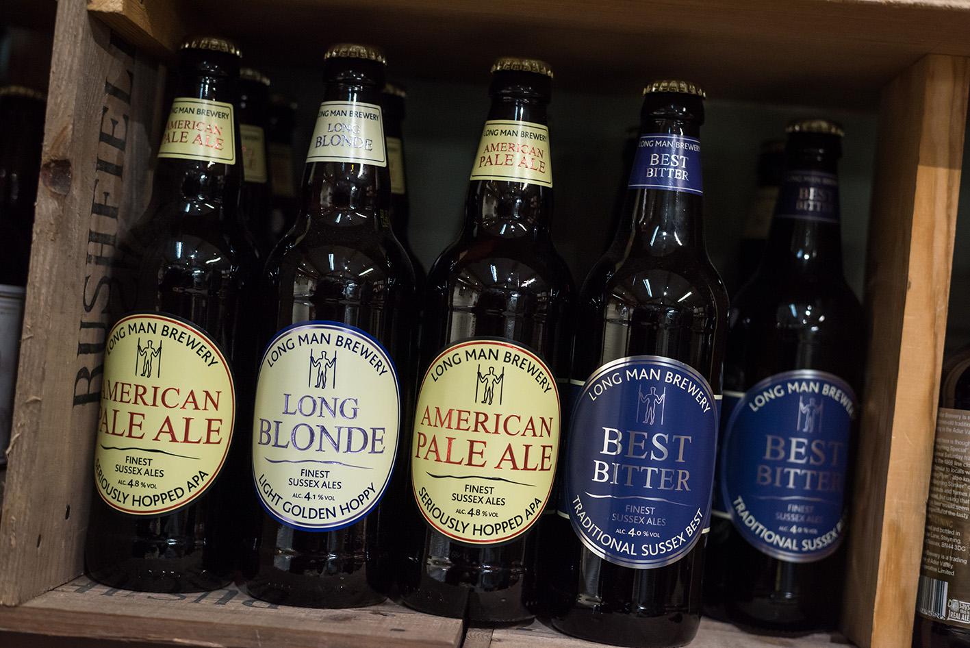 Local Beers - Rushfields Farm Shop