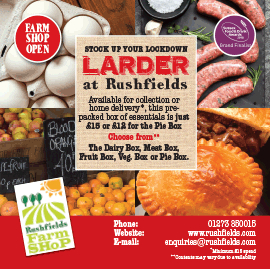 Rushfields Lockdown Food boxes - Farm Shop