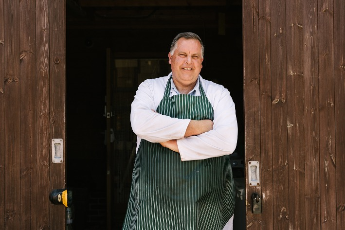 Meet our butcher Paul Channon - Rushfields