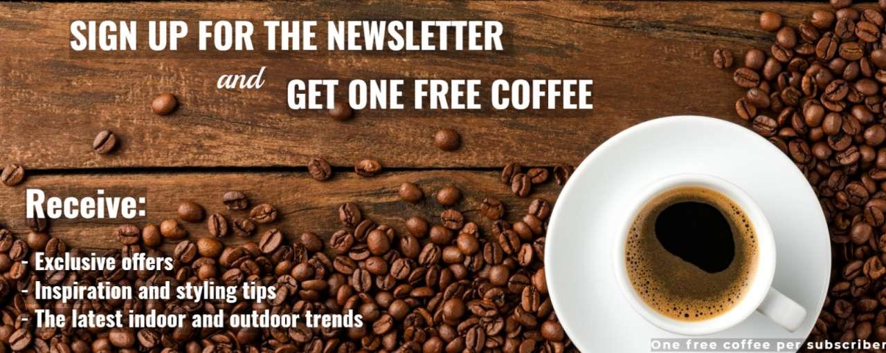 Rushfields - Free coffee voucher