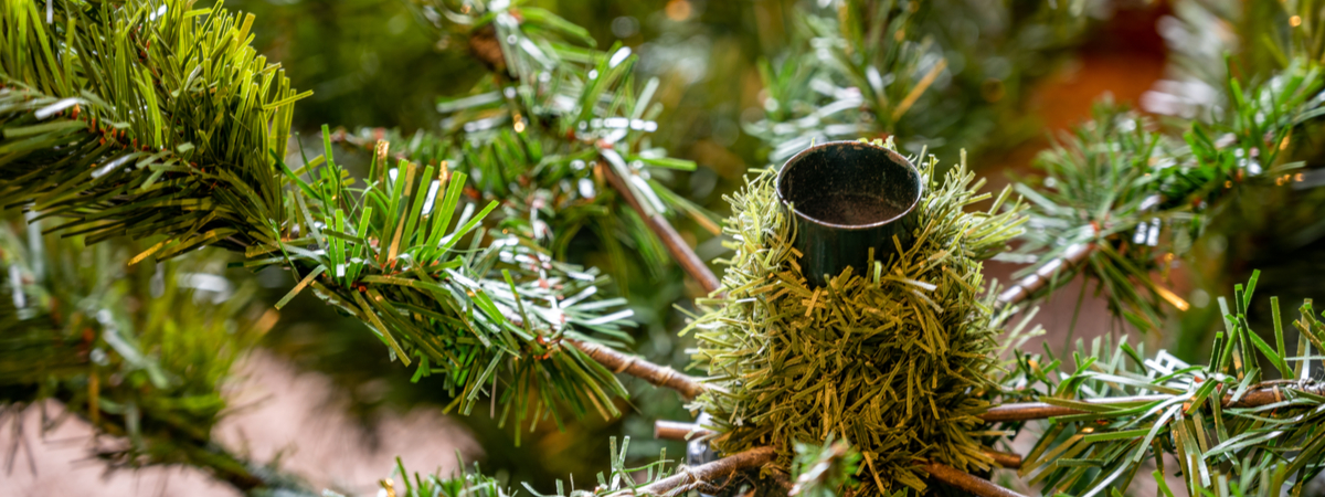 How to set up an artificial Christmas tree - Rushfields