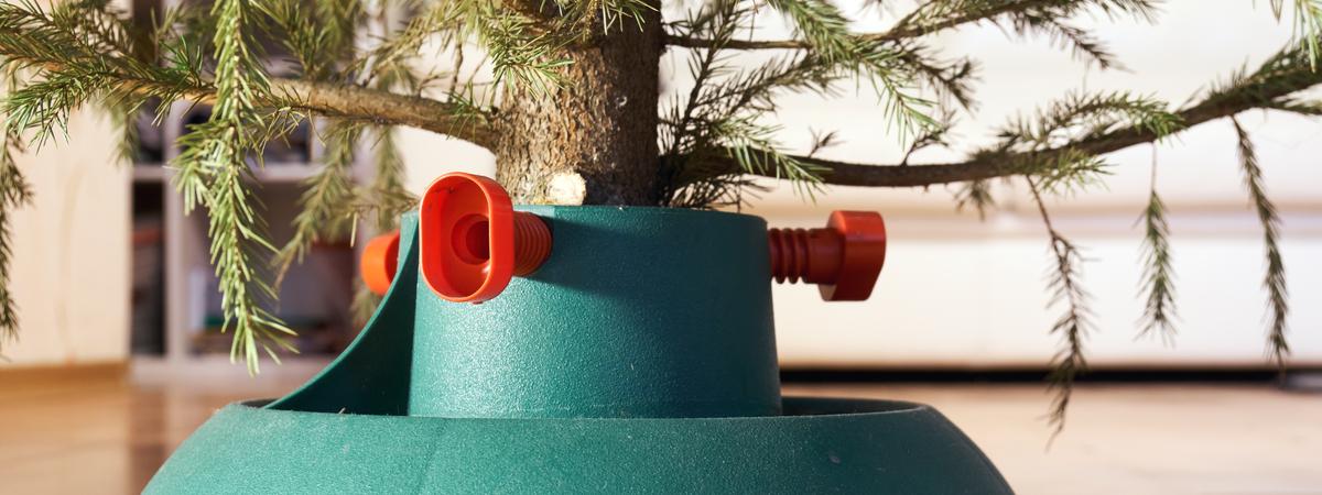 Tree stand artificial Christmas tree - Rushfields